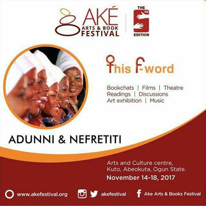 AKE ARTS AND BOOKS FESTIVAL - ADUNNI AND NEFRETITI