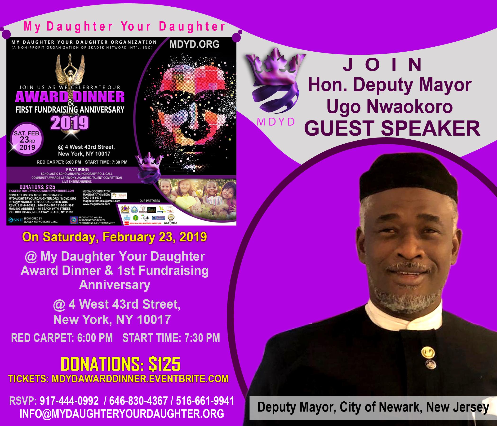 MDYD Promo Card - Hon. Deputy Mayor Ugo Nwaokoro