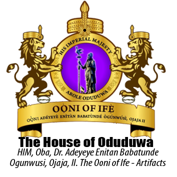 OONI OF IFE ARTIFACTS LOGO - House of Oduduwa